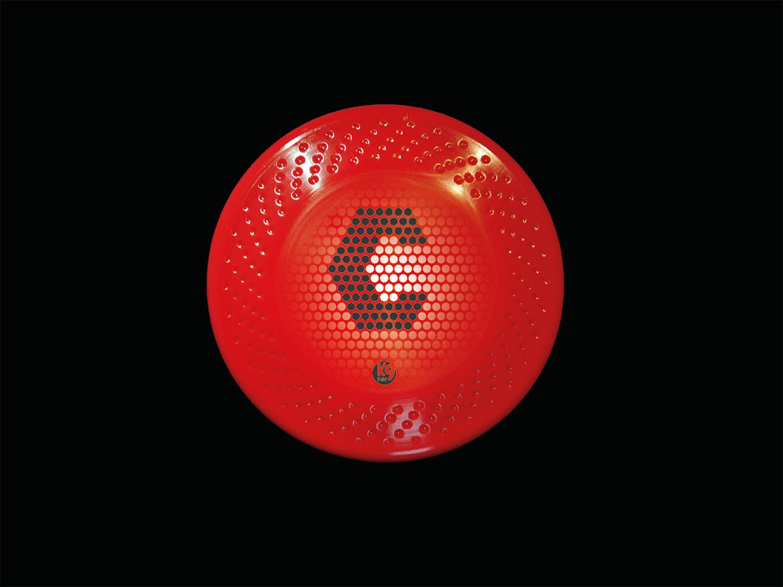 mtoledano k9disc rojo diseño trabajos