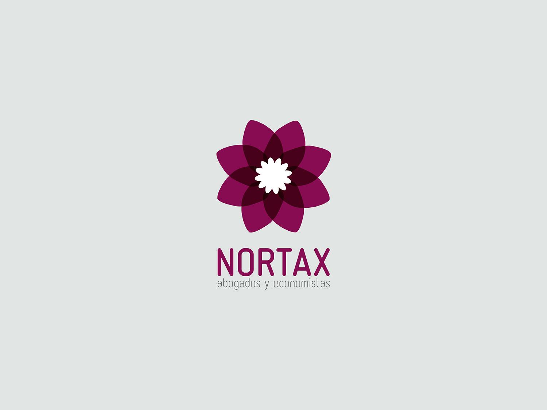diseño identidad visual nortax