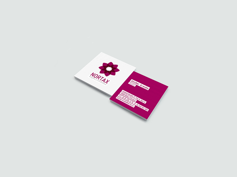 diseño tarjetas nortax