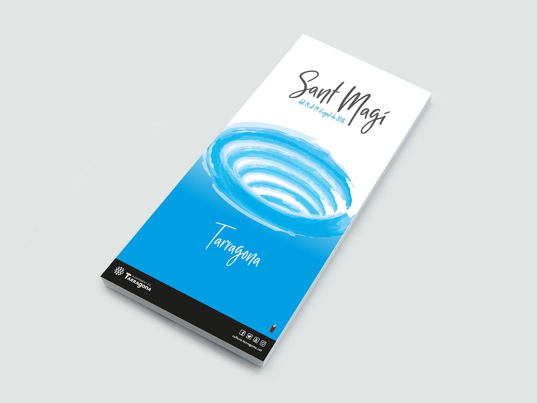 diseño cartel propuesta Sant Magí